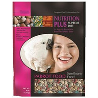 F.m. Brown Pet Nutrition Plus Supreme Parrot Food - 4 lbs