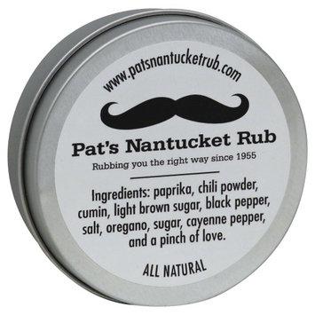 Pats Nantucket Rub 2 oz. Large Tin Of Pats Nantucket Rub - Case Of 12