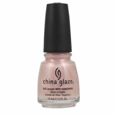 (3 Pack) CHINA GLAZE Nail Lacquer with Nail Hardner - Temptation Carnation