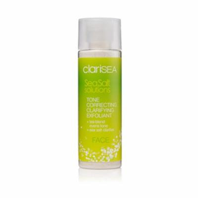 clariSEA Sea Salt Solutions Tone Correcting Clarifying Exfoliant, FACE, 5 oz.