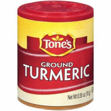 Tone's Mini's Turmeric, Ground, 0.55 Ounce (Pack of 6)