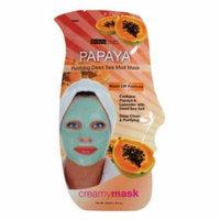 (6 Pack) BEAUTY TREATS Papaya Purifying Dead Sea Mud Mask - Papaya