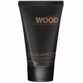 DSquared2 He Wood Rocky Mountain Hair & Body Wash, 3.4 oz.