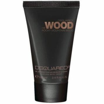 DSquared2 He Wood Rocky Mountain Hair & Body Wash, 3.4 oz.