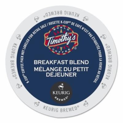 Timothy's World Coffee Breakfast Blend Coffee K-Cups, 24/Box -GMT1101