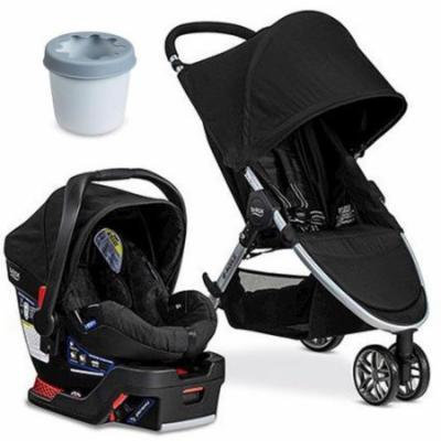 Britax B-Agile 3 B-Safe 35 Travel System With Cup Holder - Black