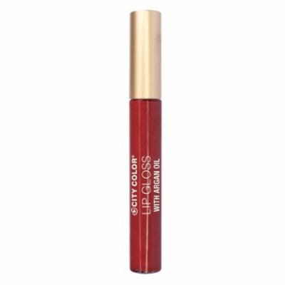 (3 Pack) CITY COLOR Lip Gloss With Argan Oil - Wild Child