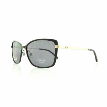 COLE HAAN Sunglasses CH628 Black 57MM