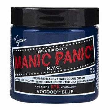 (3 Pack) MANIC PANIC Cream Formula Semi-Permanent Hair Color - Voodoo Blue