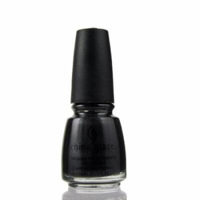 (3 Pack) CHINA GLAZE Nail Lacquer with Nail Hardner - Black Diamond