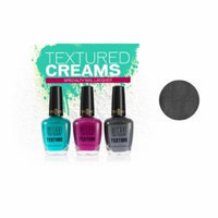 MILANI Texture Creams Specialty Nail Lacquer - Limited Edition Collection - Shady Gray