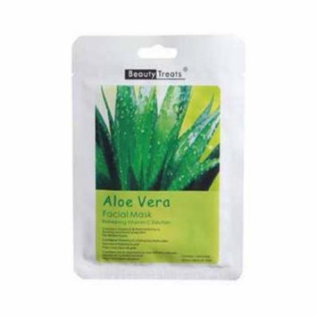 BEAUTY TREATS Facial Mask Refreshing Vitamin C Solution - Aloe Vera