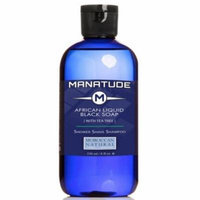 Manatude by Moroccan Natural African Liquid Black Soap, 8.0 fl. oz