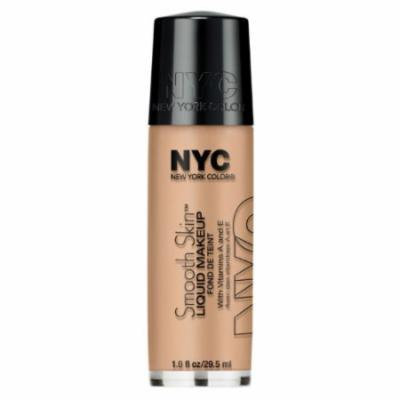 (3 Pack) NYC Smooth Skin Liquid Makeup - Barely Beige