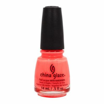 (6 Pack) CHINA GLAZE Nail Lacquer with Nail Hardner 2 - Flip Flop Fantasy