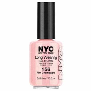 (3 Pack) NYC Long Wearing Nail Enamel - Pink Champagne