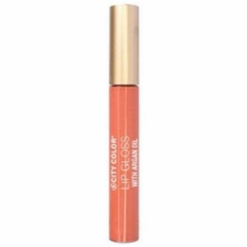(6 Pack) CITY COLOR Lip Gloss With Argan Oil - Girl Next Door
