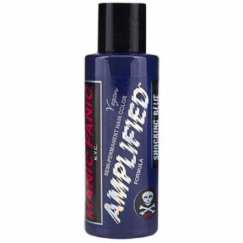 (3 Pack) MANIC PANIC Amplified Semi-Permanent Hair Color - Shocking Blue