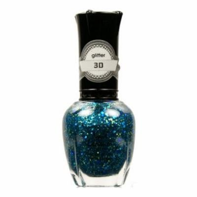 (6 Pack) KLEANCOLOR 3D Nail Lacquer - Luv U TEAL I Find Someone Better