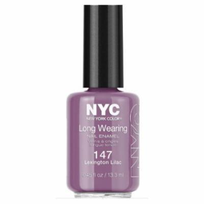 (6 Pack) NYC Long Wearing Nail Enamel - Lexington Lilac