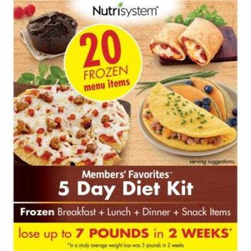 Nutrisystem Members' Favorites 5 Day Diet Kit