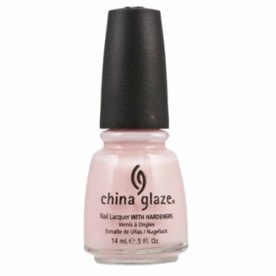 (3 Pack) CHINA GLAZE Nail Lacquer with Nail Hardner - Innocence