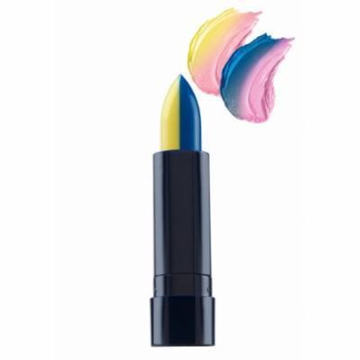 (6 Pack) Fran Wilson MOODMATCHER Split Stick Lip Color - Dark Blue/Yellow