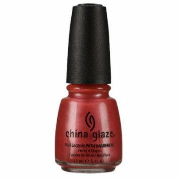 (6 Pack) CHINA GLAZE Nail Lacquer with Nail Hardner - Coral Star