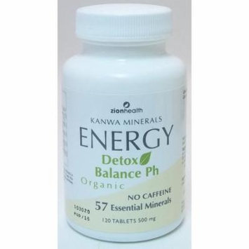 Kanwa Energy Tablets Zion Health 120 Tabs