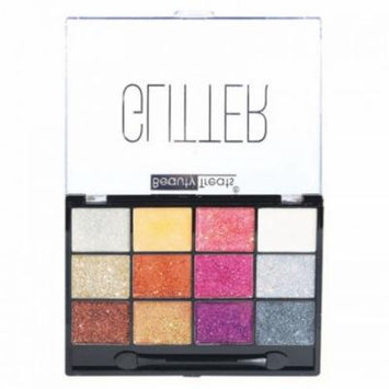 (6 Pack) BEAUTY TREATS Sparkle Glitter Palette 2