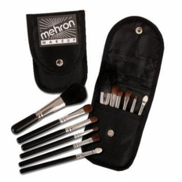 (3 Pack) mehron Mini Makeup Brush Set - Black