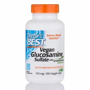 Vegan Glucosamine Sulfate with GreenGrown� Glucosamine 750 mg - 180 Veggie Capsu