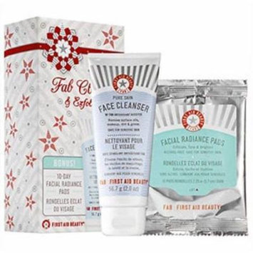 FAB First Aid Beauty Cleanse & Exfoliate Kit