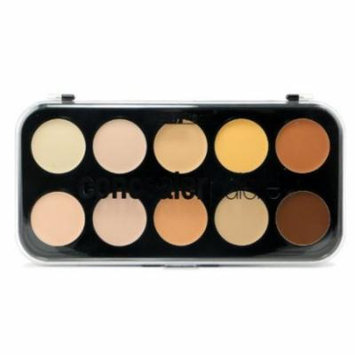 (3 Pack) BEAUTY TREATS Concealer Palette - 10 Shades
