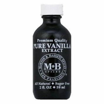 Morton & Bassett Pure Vanilla Extract, 2 Oz (Pack of 3)