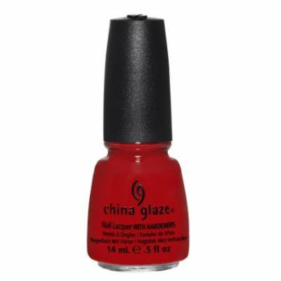 (3 Pack) CHINA GLAZE Nail Lacquer with Nail Hardner - High Roller