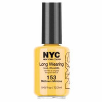 (6 Pack) NYC Long Wearing Nail Enamel - Midtown Mimosa