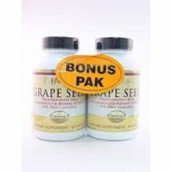 Grape Seed 50 mg Twin Pack LifeTime 60+60 Caps