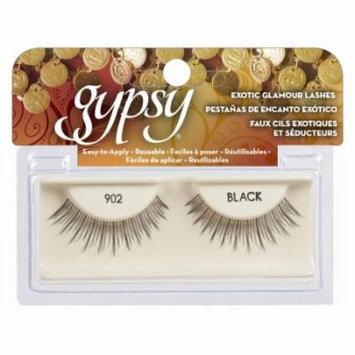(6 Pack) GYPSY LASHES False Eyelashes - 902 Black