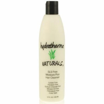 Hydratherma Naturals SLS Free Moisture Plus Hair Cleanser, 12 oz.