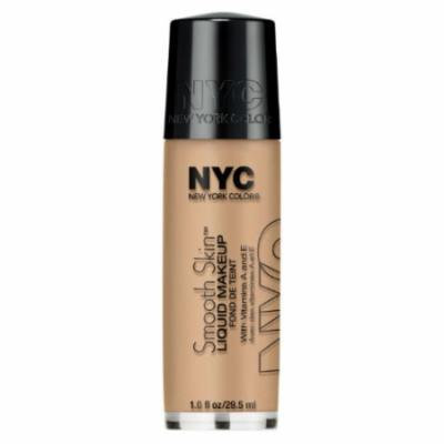 (3 Pack) NYC Smooth Skin Liquid Makeup - Soft Beige