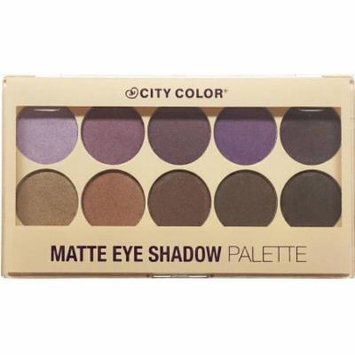 City Color Matte Eyeshadow Palette