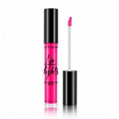 JORDANA Lip Lights Colorshock Gloss - Radiant Raspberry