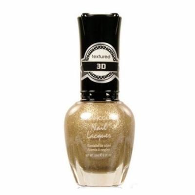 (6 Pack) KLEANCOLOR 3D Nail Lacquer - Royal Privilege