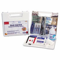 First Aid Only Bulk First Aid Kit for 25 People, 106-Pieces, OSHA Compliant, Plastic Case 223-U