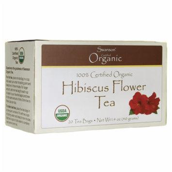 Swanson Hibiscus Flower Tea 20 Bag(S)