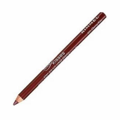 (6 Pack) RIMMEL LONDON Lasting Finish 1000 Kisses Stay On Lip Liner Pencil - Cherry Kiss