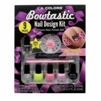 L.A. Colors Bowtastic Nail Design Kit