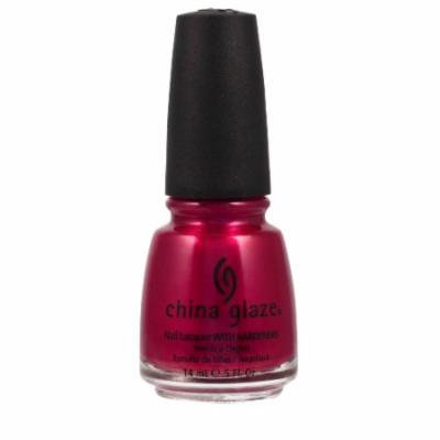(3 Pack) CHINA GLAZE Nail Lacquer with Nail Hardner - Sexy Silhouette