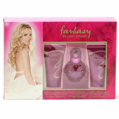 Britney Spears Fantasy 1 oz. EDP Sp/1.7 oz. Body souffle/1.7 oz. Shower Gel Size: Set